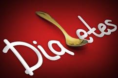 Diabetes - health hazard metaphor Stock Image