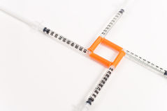 Diabetes Insulin Royalty Free Stock Photos