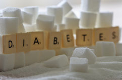 Diabetes Stock Image