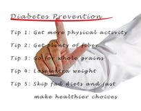 Diabetes prevention Stock Photography
