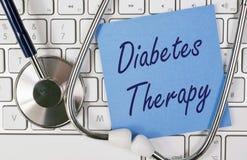 Diabetes therapy Royalty Free Stock Photo