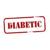 diabetic ilustração royalty free