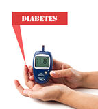 Diabetic concept Stock Images