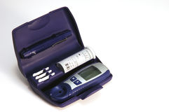 Diabetic Glucose Kit Stock Image
