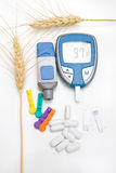 Diabetic Supplies Concept Royalty Free Stock Images