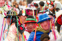 Diablada Pillaro στοκ φωτογραφία με δικαίωμα ελεύθερης χρήσης