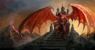 Diable illustration libre de droits