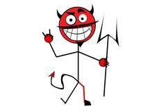 Diable illustration de vecteur