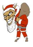 Diable Claus illustration libre de droits
