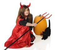 Diable de Veille de la toussaint Image libre de droits