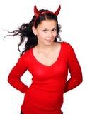 Diable féminin Photo stock