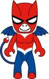 Diable rouge de jouet illustration libre de droits
