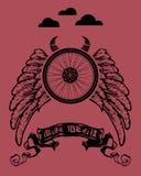 Diables de vélo Photographie stock