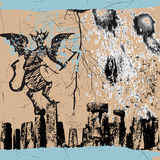 Diablo Imágenes de archivo libres de regalías
