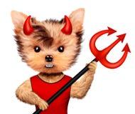Diablo animal divertido Halloween y concepto malvado Fotos de archivo