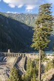 Diablo Dam photo stock