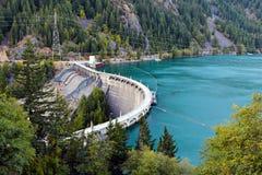 Diablo Dam Stock Image