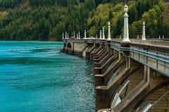 Diablo Dam roadway Royalty Free Stock Photography