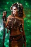 Diablo del bosque Imagen de archivo