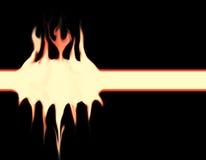 Diablo del fuego de Drawwing de la textura Fotografía de archivo