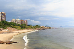 Diablo (diabeł) plaża, Arpoador, Rio De Janeiro zdjęcia royalty free