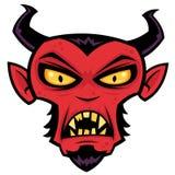 Diablo enojado Imágenes de archivo libres de regalías