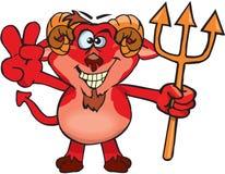 Diablo fresco Imagen de archivo libre de regalías