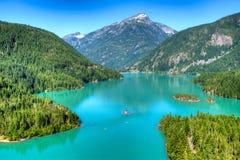 diablo jezioro Obrazy Royalty Free