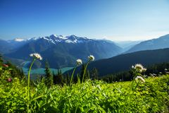 Diablo lake Royalty Free Stock Images