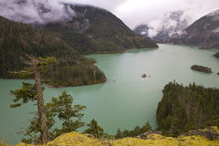 Diablo Lake in the North Cascades, Washington State Royalty Free Stock Photography