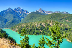 Diablo Lake Stock Photography