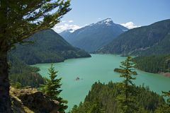 Diablo Lake Washington Royalty Free Stock Photos