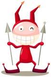 Diablo rojo Imagenes de archivo