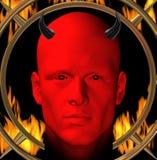 Diablo rojo Fotos de archivo libres de regalías