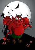 Diablo rojo Foto de archivo libre de regalías