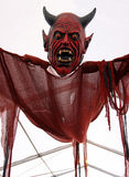 Diablo rojo/vampiro asustadizos Imagen de archivo libre de regalías