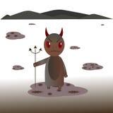 Diablo y pantano Fotos de archivo