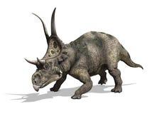 Diabloceratops dinosaurie Royaltyfria Foton