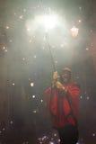Diablos del fuego Foto de archivo