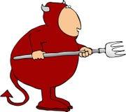 Diabo ilustração stock