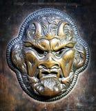 Diabo de bronze fotos de stock