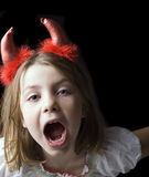 Diabo de Lil Fotografia de Stock