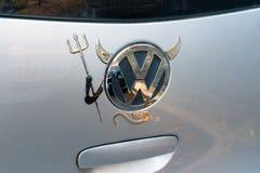 Diabo de Volkswagen fotografia de stock