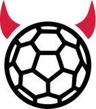 Diabo do handball ilustração do vetor