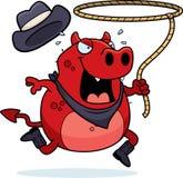 Diabo do rodeio Imagem de Stock Royalty Free