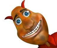 Diabo feliz Imagens de Stock Royalty Free