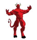 Diabo irritado Imagens de Stock Royalty Free