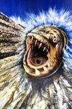 Diabo-marinho no museu do olho do truque Fotografia de Stock