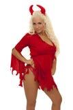 Diabo 'sexy' Fotos de Stock Royalty Free