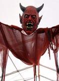 Diabo vermelho assustador/vampiro imagem de stock royalty free